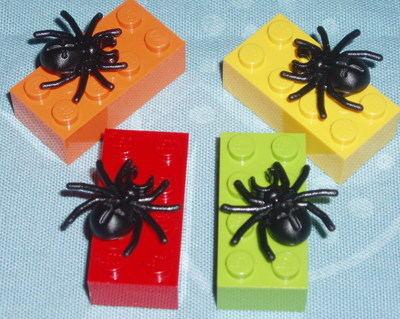 Lego Spider Pendant 4x2 Lego Brick Geek Emo Retro