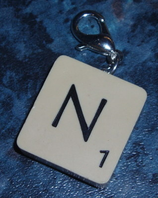 Scrabble Charm All Letter Initial Links Sweetie Sabo