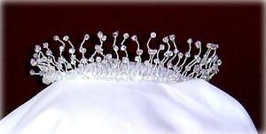 Tiara Elegant Swarovski Crystal Pearls Classic