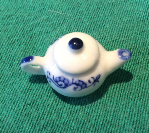 Teapot Pendant Miniature