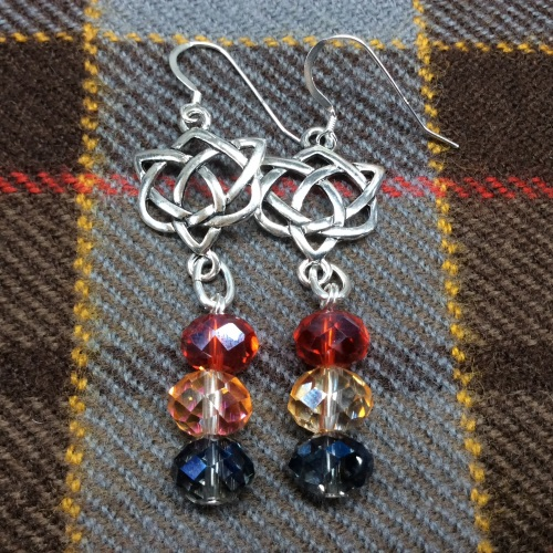 Outlander Inspired Celtic Knot Earrings