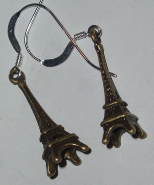 Eiffel Tower Earrings Oh La La