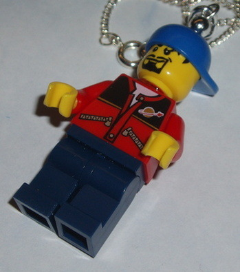 Lego MiniFigure Pendant Space Technician