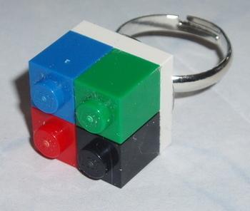 Lego Ring 4 lego Bricks