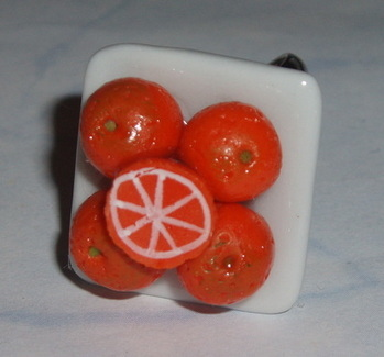 Juicy Oranges Ring