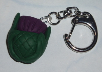 Thistle Keyring Scottish Scotland Fimo Weddings