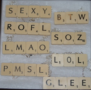 new scrabble word necklaces