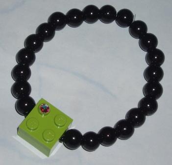 lime lego black preal bracelet
