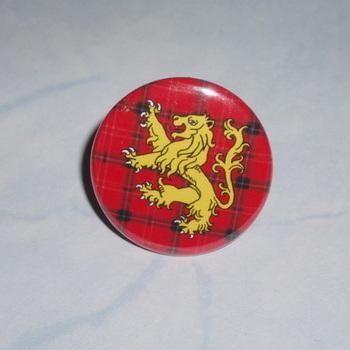 Lion Rampant Red Tartan Ring