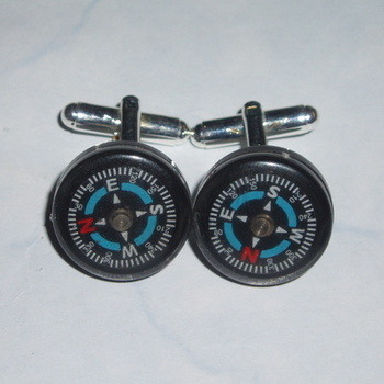 Compass Cufflinks Real Working Services Scouts