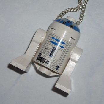 Lego MiniFigure Pendant Star Wars R2D2 Robot