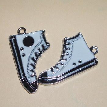Converse Pendant necklace Sneakers Shoe Enamelled Charms