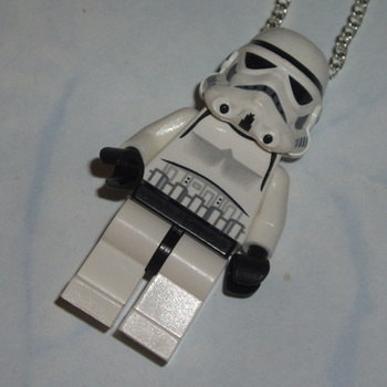 Lego MiniFigure Pendant Star Wars Storm Trooper