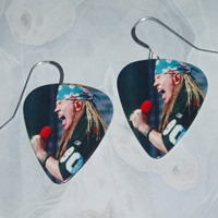 guns n roses earrings bandana