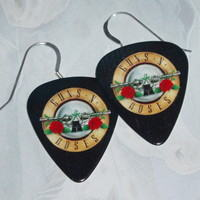 guns n roses earrings roses
