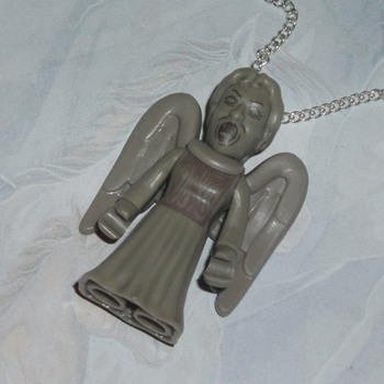 Dr Who Figure Pendant Weeping Angel Character Builder