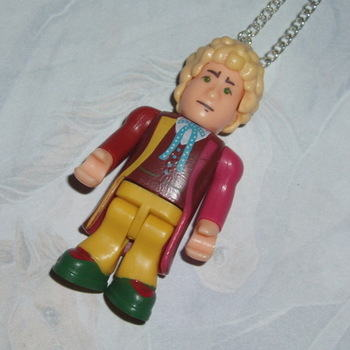 Doctor Who Figure Pendant 6th Colin Baker
