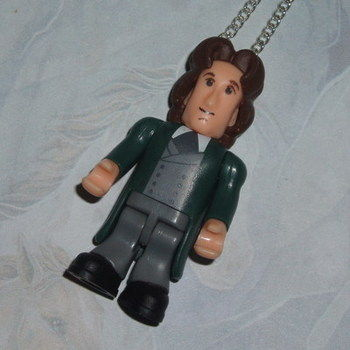 Doctor Who Figure Pendant 8th Paul McGann Sonic Screwdriver