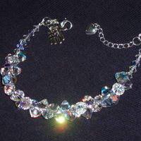 Crystal Cluster Bracelets
