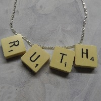 Scrabble Necklaces and Pendants