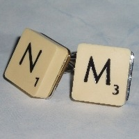 Scrabble Cufflinks Charms and Other Things