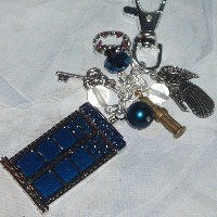Dr Who Brooches Bracelets Bag Charms