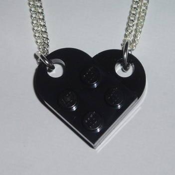 lego heart black