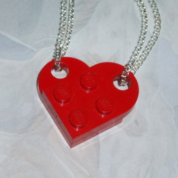lego heart duo red
