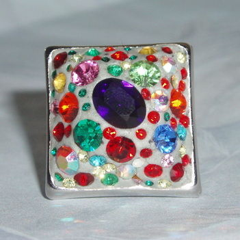 Crystal Clay ring