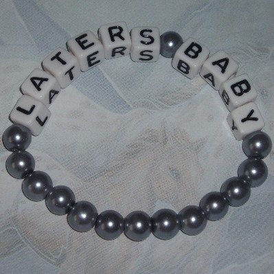 50 Shades Of Grey Bracelet Stretch Laters Baby Christian Ana