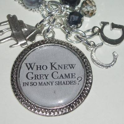 50 Shades Grey Who Knew So Many Photo Charm Necklace