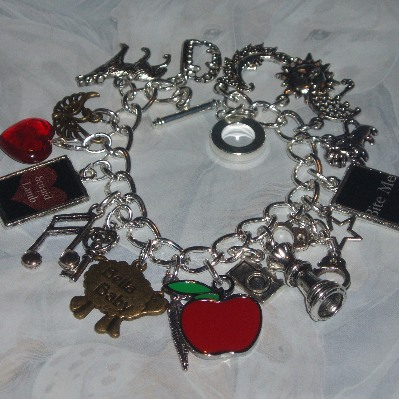 Breaking Dawn Charm Bracelet Twilight New Moon Loaded
