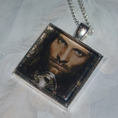 Lord of the Rings Pendant Aragorn