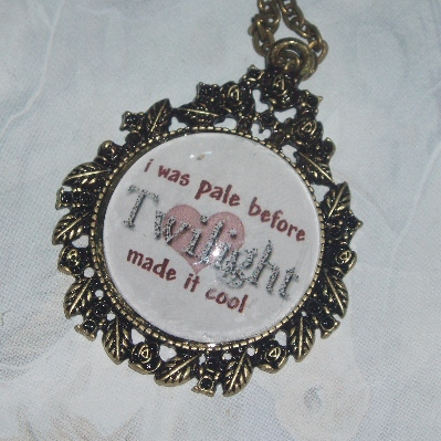 Twilight Pendant I Was Pale Before Cool