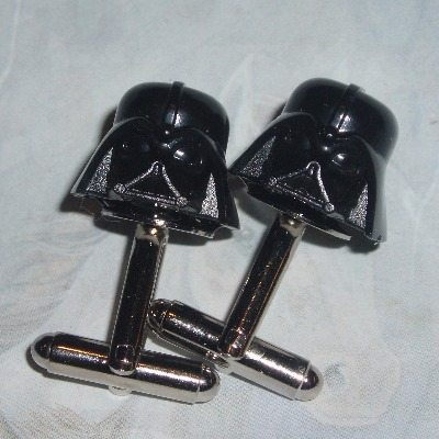 Lego Darth Vader Cufflinks Star Wars Black Helmets Geek
