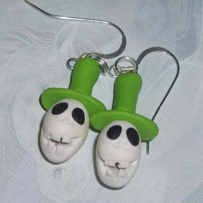 Snowman Jack Headknocker Earrings Nightmare Christmas