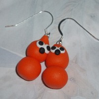 zingy edf energy blob earrings