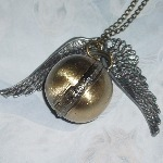 Golden Snitch Ball Watch Steampunk Style Harry Potter Wings
