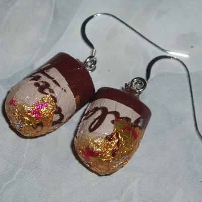 Galaxy Egg Earrings Sweet Sterling