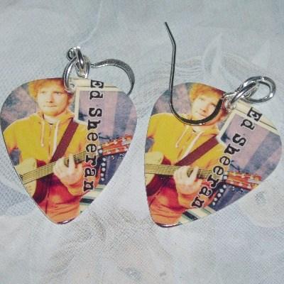 Guitar Pick Earrings Ed Sheeran