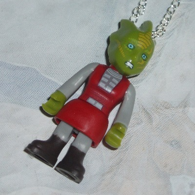 Dr Who Figure Pendant Silurian Guard