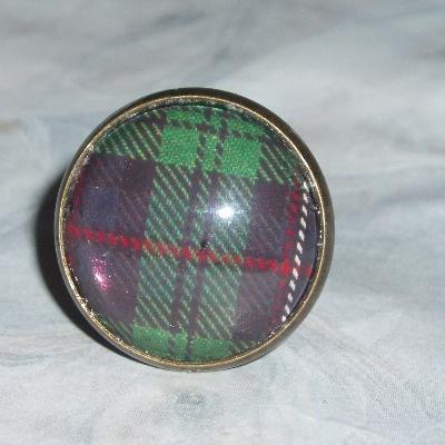 Tartan Ring Round Plaid Scottish Clan