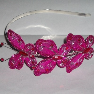 Hair Band Butterfly Flutterby Alice Organza
