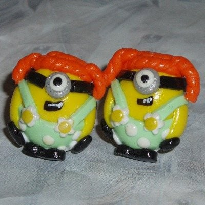 Minion Ring Stuart One Eye Handmade Fimo Gru Despicable Me