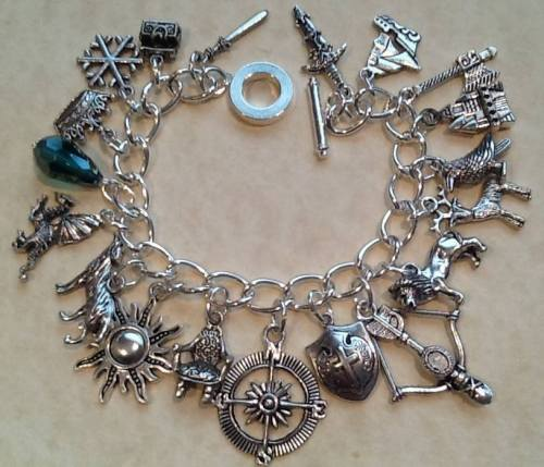 Game of Thrones Inspired Charm Bracelet Handmade