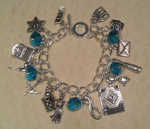 Fault In Our Stars Inspired Charm Bracelet Handmade