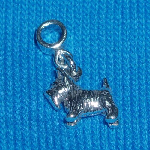 Scottie Westie Dog Charm