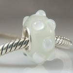 Aonach Mor Snow Glass Bead
