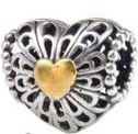 Stirling Heart of Scotland Silver Bead