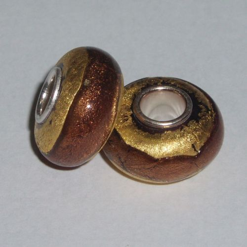 Kildonan Gold Glass Bead